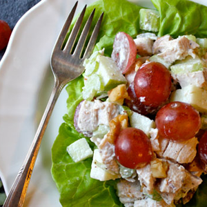Turkey Waldorf Salad.