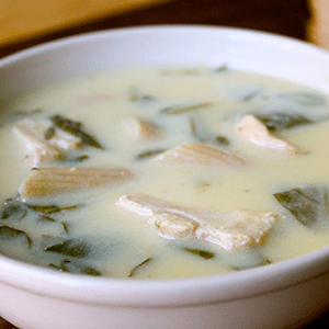 Greek Lemon Chicken Soup (Avgolemono)