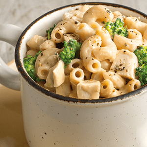 Macaroni and Cheese with Broccoli