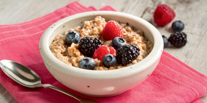 Peanut Butter and Chocolate Steel-Cut Oatmeal
