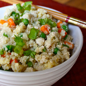 Chicken and Cauliflower Fried Rice