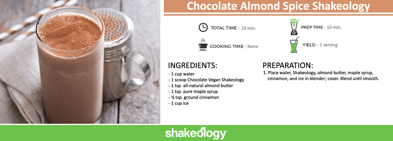 Chocolate Almond Spice Shakeology