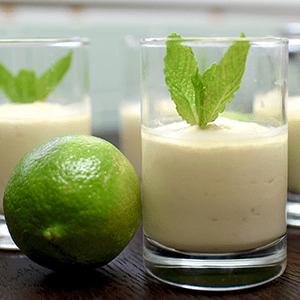 Vegan Lime Cheesecake Cups