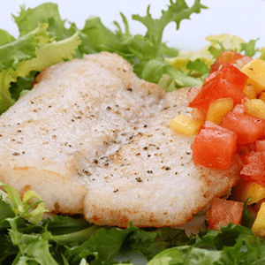 Whitefish with Tomato Salsa
