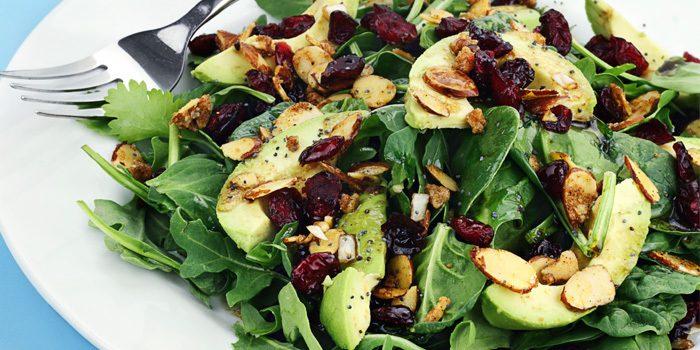Spinach and Avocado Salad