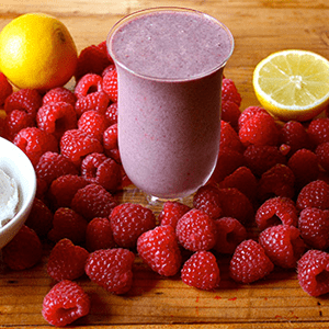 Lemon Raspberry Ricotta Shakeology