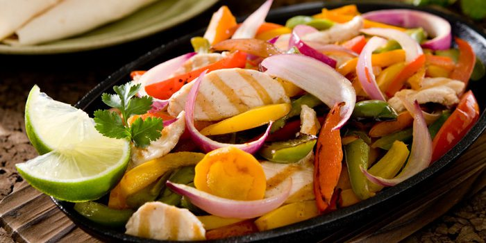Chicken and Veggie Fajitas