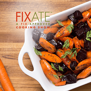 Honey-Roasted Carrots and Beets