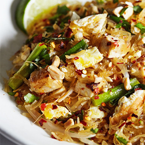 Pad Thai with Spaghetti Squash
