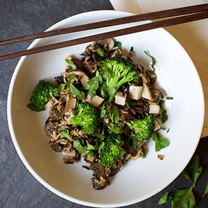 Turkey and Wild Rice Bowl