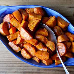 glazed-yams-with-cinnamon-and-nutmeg