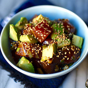 tuna-poke-with-avocado