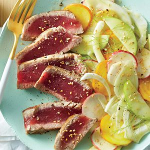 seared-tuna-shaved-vegetable-salad-ic