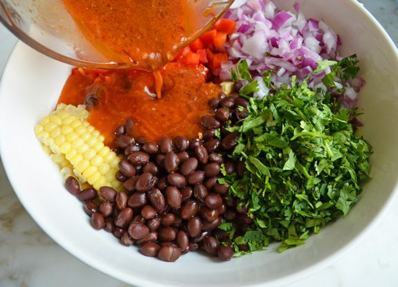 """<img src=""""beans and corn salad.png"""" alt=""""bean and corn salad in a bowl"""">"""