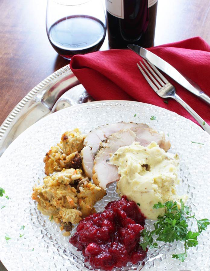 "<img src=""turkey_dinner.png"" alt=""turkey dinner with cranberries stuffing and mashed potato""/>"